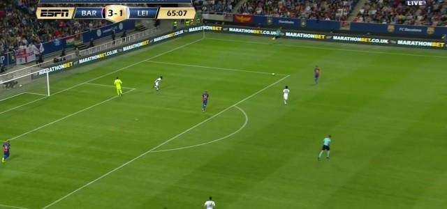 Ahmed Musas Doppelpack gegen den FC Barcelona