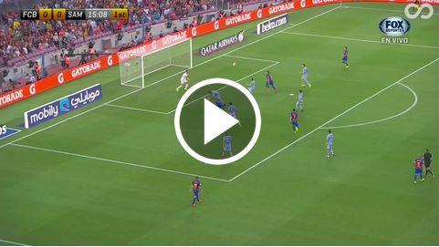Messis Fallrückzieher-Assist gegen Sampdoria Genua