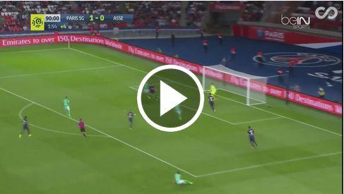 Robert Beric trifft in Nachspielzeit gegen PSG zum 1:1-Unentschieden