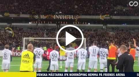 8000 AIK-Fans singen 17-jährigem Alexander Isak ein Geburtstagsständchen