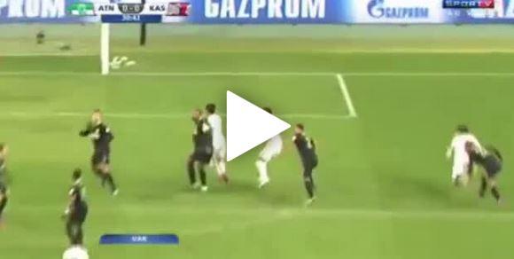 Elfmeter nach Videobeweis bei Klub-WM (Atlético Nacional vs Kashima Antlers)