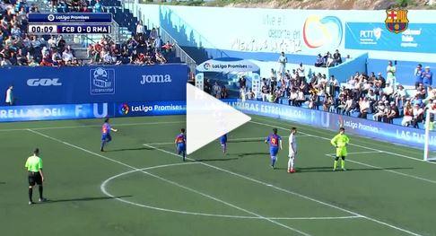 8 Sekunden: Barca-Nachwuchs schießt schnelles Tor gegen Real