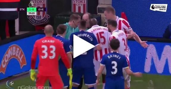 Super Arnautovic-Assist gegen Everton