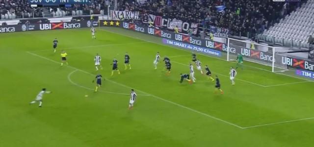 Juan Cuadrados Kracher gegen Inter