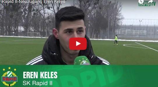 Interview mit Rapid II-Neuzugang Eren Keles