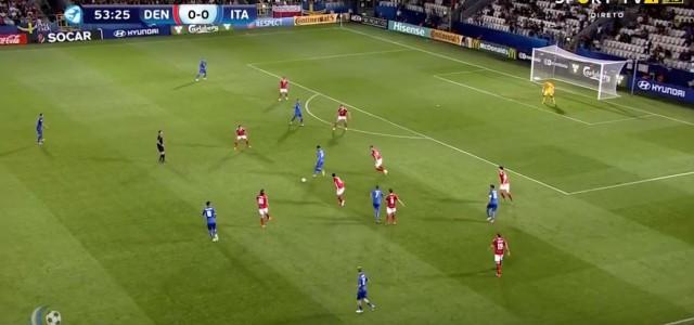 U21-EM:  Pellegrini trifft per Fallrückzieher gegen Dänemark