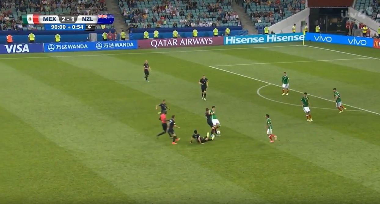 Confed-Cup: Tumulte zwischen Mexiko und Neuseeland