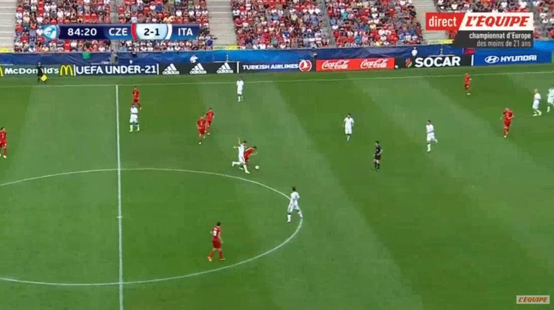 U21-EM: Michael Lüftners Tor gegen Italien (3:1)