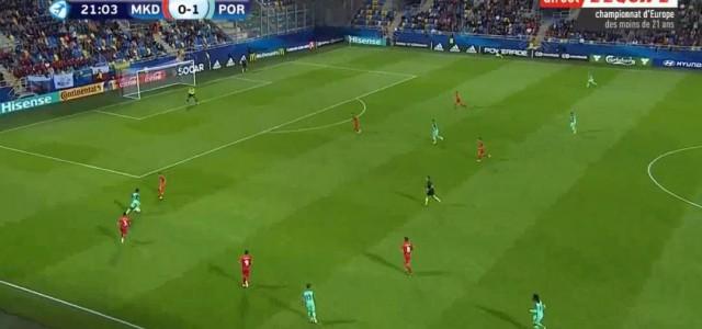 U21-EM Brumas Treffer gegen Mazedonien