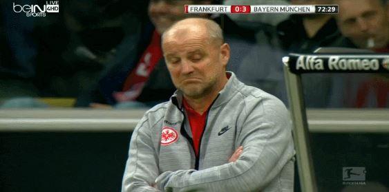 Manuel Neuer beeindruckt Eintracht-Coach Thomas Schaaf mit seiner Technik