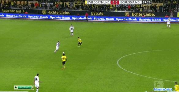 Christoph Kramers Eigentor gegen Dortmund