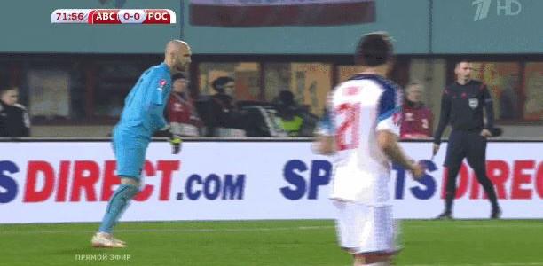 Sieben Sekunden bis zum Tor: Rubin Okoties Treffer gegen Russland