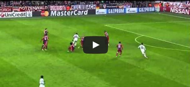 Seydou Doumbias irrer Sololauf gegen den FC Bayern
