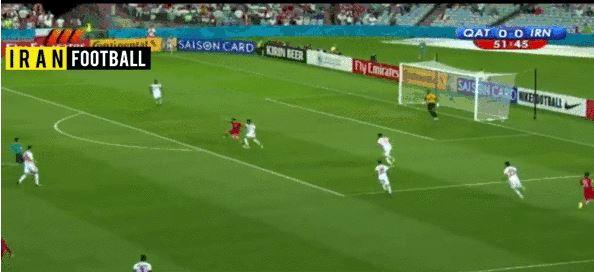 Irans Siegtreffer gegen Katar (Asien-Cup)