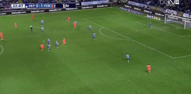 Messi-Hattrick gegen Deportivo La Coruna