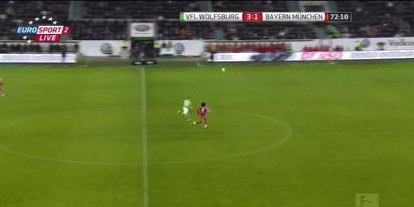 Kevin De Bruyne mit tollem Sololauf und Abschluss gegen den FC Bayern München