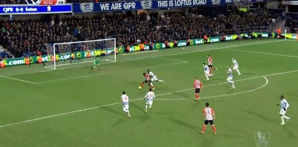 Sadio Mane (Southampton) schießt in Nachspielzeit Siegtreffer gegen die QPR