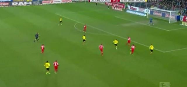 Dortmund ist zurück! Traumkombination zum 3:0 gegen den SC Freiburg