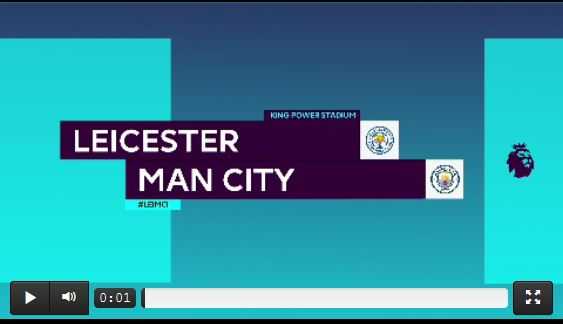 Leicester schockt Manchester City (Highlights)