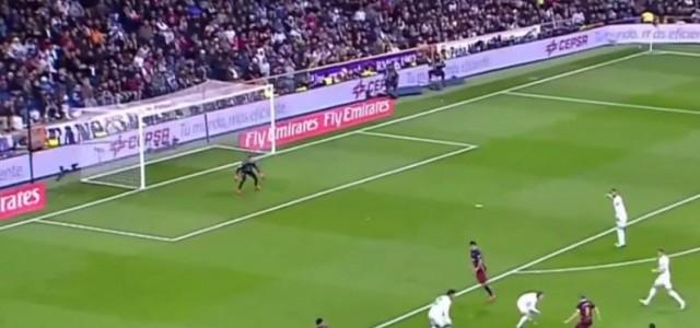 Neymar erhöht auf 2:0 gegen Real Madrid