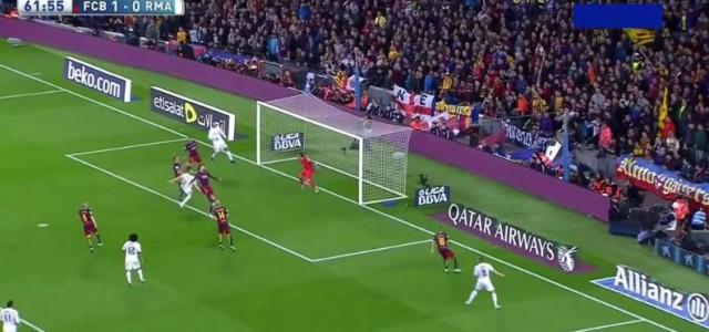 Karim Benzemas spektakulärer Ausgleich gegen den FC Barcelona (1:1)