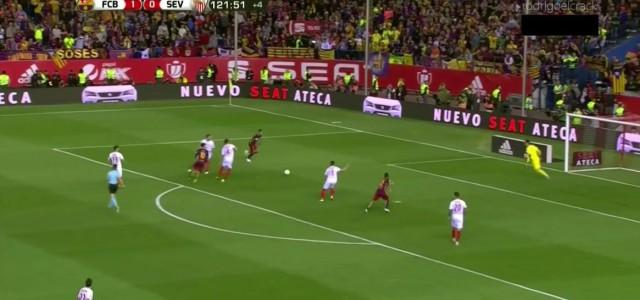 Copa del Rey: Barcelona gewinnt Finalspiel gegen Sevilla (2:0)