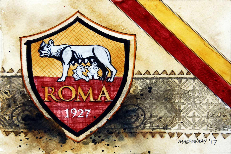 _AS Roma Wappen