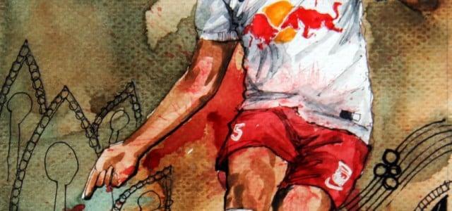 Taktikboards zur 31. Runde der tipico Bundesliga 2014/2015   Red Bull Salzburgs verändertes Aufbauspiel