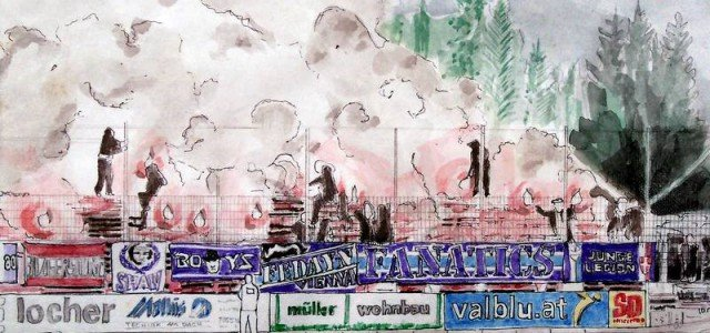 """Das sagen die Austria-Fans vor der EL-Partie gegen die AS Roma: """"Freu mich wie Sau auf Rom"""""""