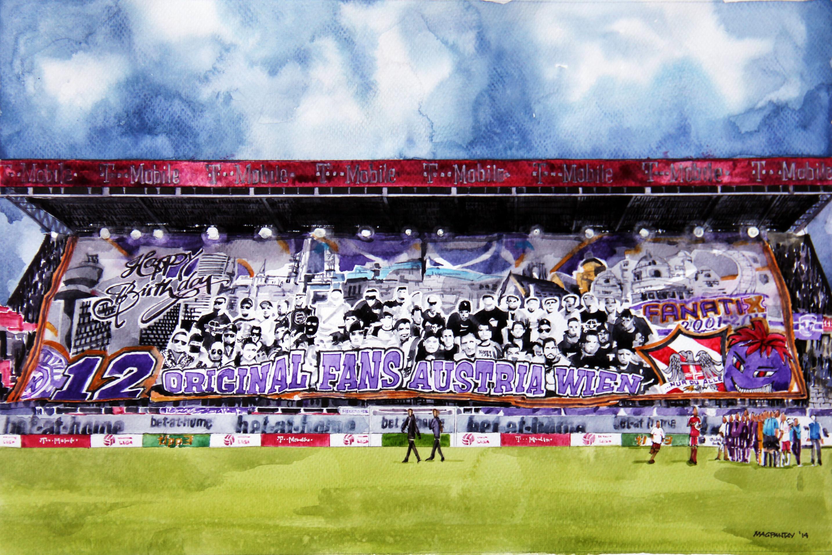"""Austria-Fans: """"St. Pölten wird ein harter Brocken"""""""