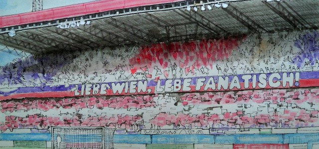 """Meinungen der Austria-Fans vor dem 314. Derby: """"Meistens gewinnt der Außenseiter"""""""