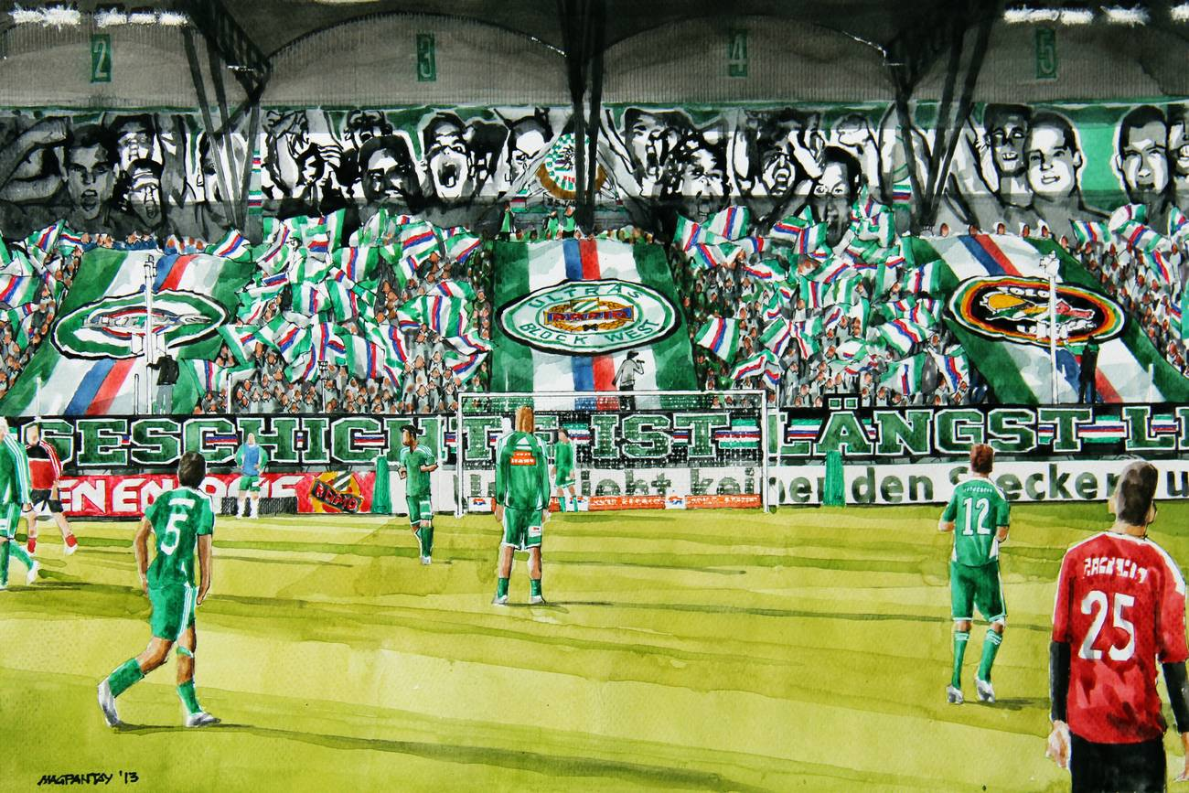 """Rapid-Fans: """"Außenseiter gegen Gent, aber ein Weiterkommen ist möglich"""""""