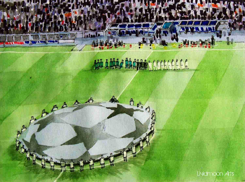 _Champions League vor dem Spiel