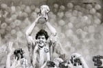 Weltmeisterschaft 1986: Maradona-Festspiele in Mexiko