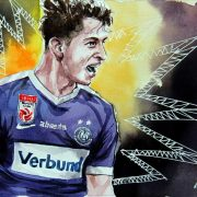 Drei Monate Pause für Austrias Dominik Fitz