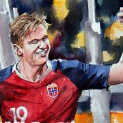Nations League: England schlägt Belgien, Haaland trifft und trifft