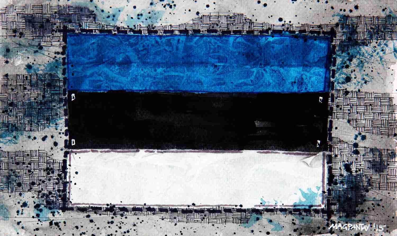 _Estland Flagge