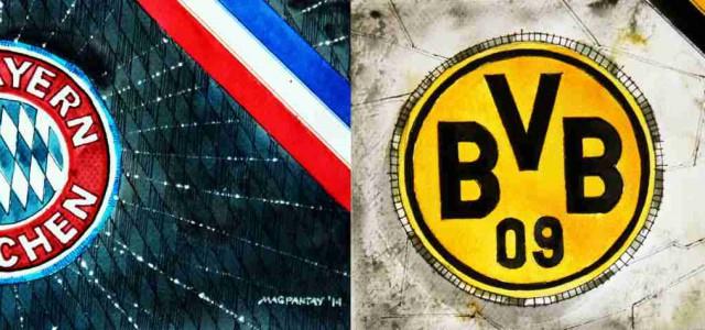 Bayern gegen Dortmund: Das vermeintliche Spitzenspiel