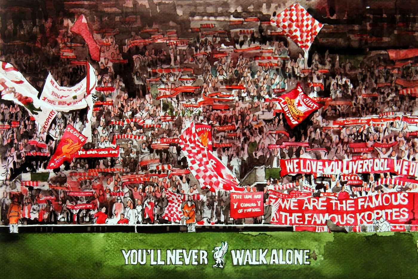 Englischer Titel: Der FC Liverpool und das Coronavirus