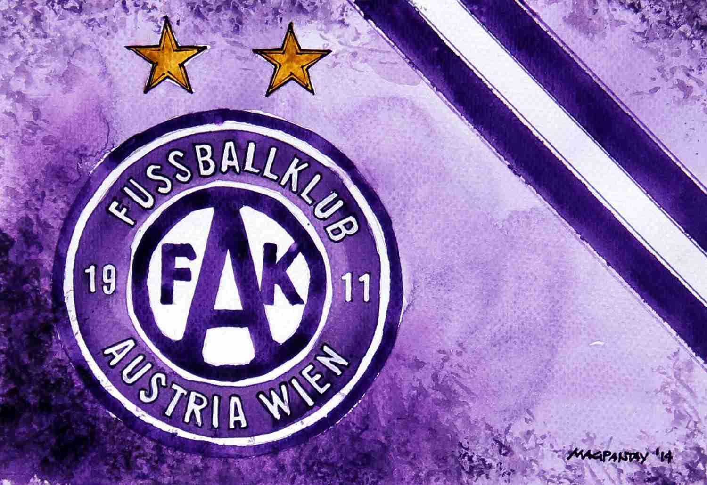 _FK Austria Wien - Wappen mit Farben