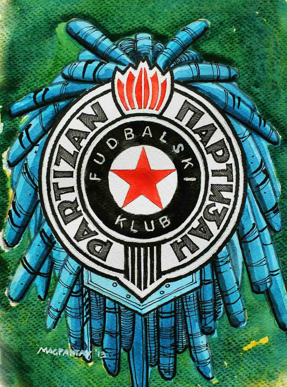 _FK Partizan Belgrad Wappen