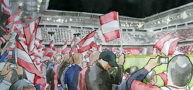 """Fans nach 3:0 gegen Slowenien: """"Katerstimmung ist Vergangenheit"""""""