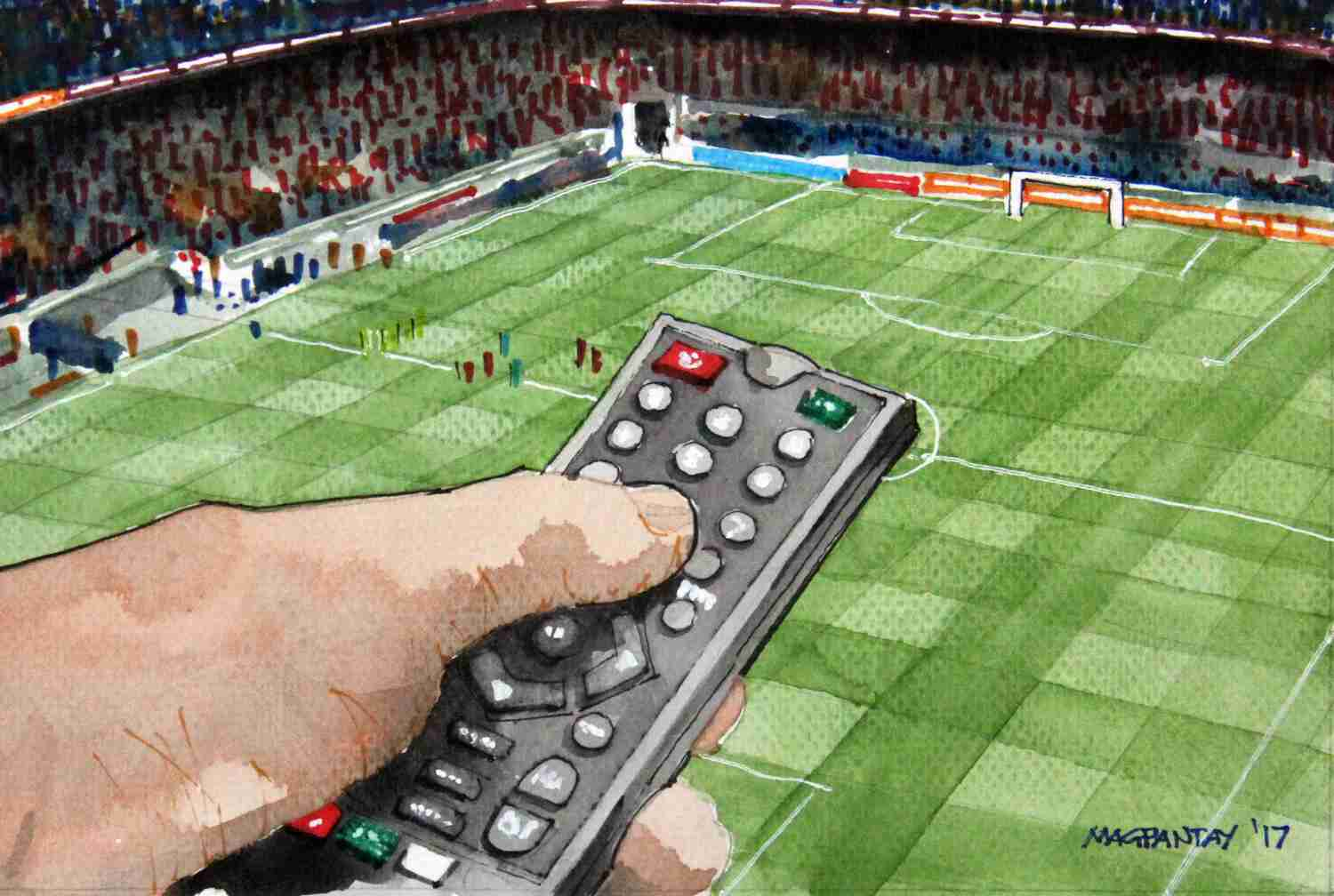 Fussball Im Tv Abseits At