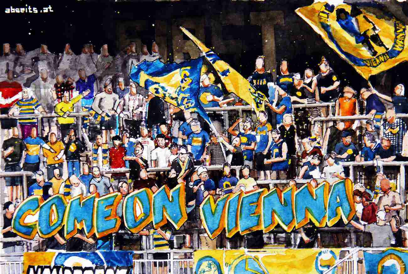 _First Vienna FC Fantribüne