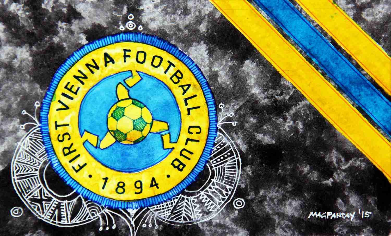 _First Vienna FC Wappen Stripes