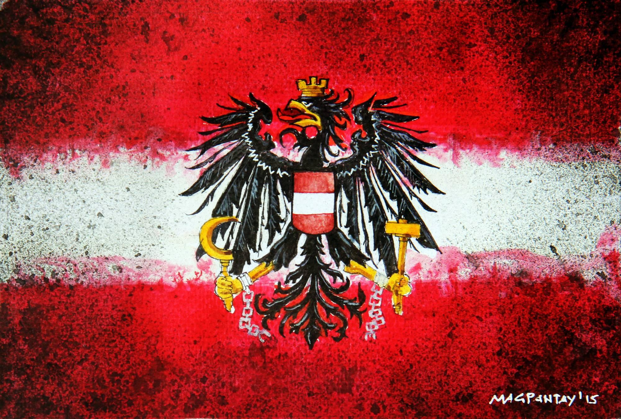 Flagge-Österreich-1