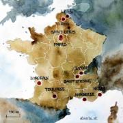 Frankreich 2019 – Eine Reise in den Nordosten des Landes (1)
