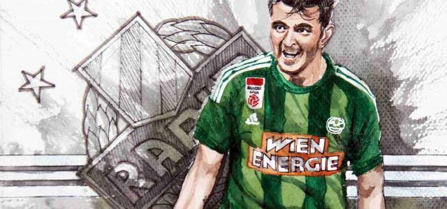 2:0 gegen den LASK: Rapid findet zurück zur Kämpfermentalität