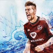 """Remis im Duell der langen Bälle: Eintracht Frankfurt und der """"Club"""" trennen sich mit 1:1"""