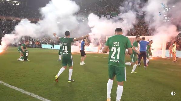 Große Emotionen nach Maccabi Haifas erstem Titel seit zehn Jahren